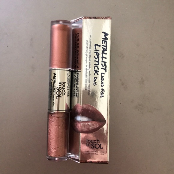 touch in SOL Other - Touch in SOL Metalist Lipstick Duo - Penny (#2)